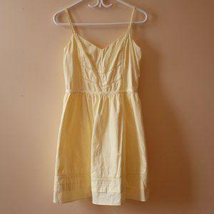 Cotton yellow dress